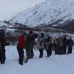 Probing practice at Hatcher Pass